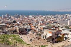 Kadifekale,伊兹密尔,土耳其 免版税库存图片