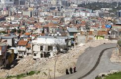 Kadifekale Izmir, Turkiet Royaltyfria Foton