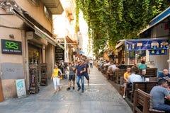 Kadikoy普遍的街道看法  免版税库存图片