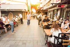 Kadikoy普遍的街道看法  免版税图库摄影