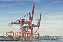 Kadikoy港口,伊斯坦布尔,土耳其 免版税库存图片