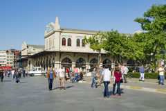 Kadikoy Haldun Taner Stage. Istanbul, Kadikoy Pier Square. Royalty Free Stock Photography