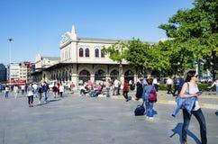 Kadikoy Haldun Taner Stage. Istanbul, Kadikoy Pier Square. Royalty Free Stock Photo