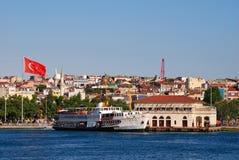 Kadikoy harbour in Istanbul stock photos
