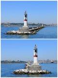 Kadikoy lighthouse Royalty Free Stock Photography