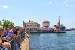 Kadikoy Pier Stock Photography