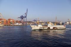 Kadikoy skeppsdocka, Istanbul Royaltyfri Foto