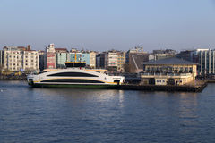 Kadikoy skeppsdocka, Istanbul Royaltyfria Bilder