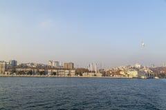 Kadikoy skeppsdocka, Istanbul Royaltyfri Bild