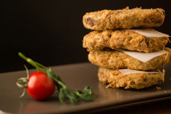 Kadinbudu Kofte/τουρκικά παραδοσιακά τρόφιμα Στοκ φωτογραφίες με δικαίωμα ελεύθερης χρήσης