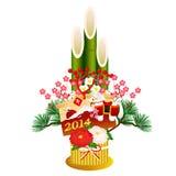 Kadomatsu Shochikubai New Year Stock Image