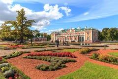 Kadriorg ogródy i pałac Zdjęcia Royalty Free