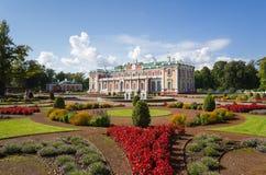 Kadriorg pałac Zdjęcie Stock