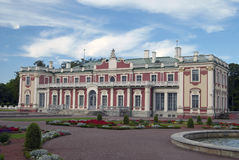 Kadriorg palace. View on the Kadriorg Palace in Tallinn Royalty Free Stock Photography