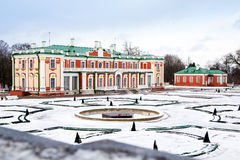 Kadriorg Palace and Art Museum In Tallinn Stock Photography