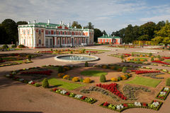 Kadriorg palace in autumn Royalty Free Stock Image