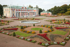 Kadriorg palace in autumn Stock Photo