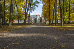 Kadriorg Palace in Autumn Tallinn Stock Image