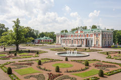 Kadriorg Palace. Kadrirg Park,Tlallinn,Estonia Stock Photo