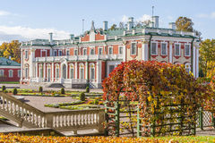 Kadriorg Palace in Tallinn Stock Images