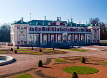 Kadriorg Palace in Tallinn Estonia Royalty Free Stock Image