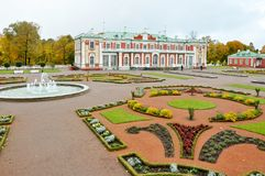 Kadriorg Palace. Of Tallinn, Estonia. Europe Royalty Free Stock Photography