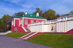 Kadriorg Palace in Tallinn, outdoor shot Royalty Free Stock Images