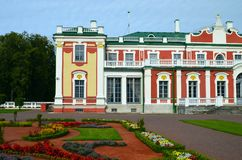 Kadriorg Palace in Tallinn Royalty Free Stock Photos