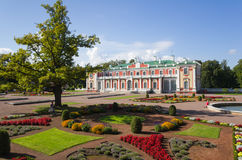 Kadriorg palace Stock Photography