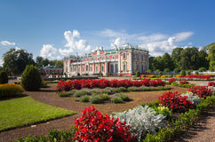 Kadriorg palace Stock Image
