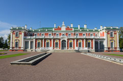 Kadriorg Palast Stockbild