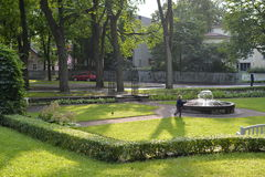 Kadriorg park - Catherine's Valley in Tallinn, Estonia Royalty Free Stock Photo