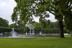 Kadriorg park - Catherine's Valley in Tallinn, Estonia Royalty Free Stock Photos