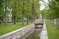 Kadriorg park - Catherine's Valley in Tallinn, Estonia Royalty Free Stock Photography