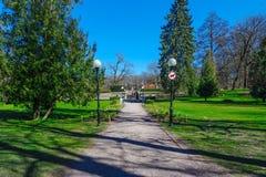 Kadriorg Park i Tallinn arkivfoton