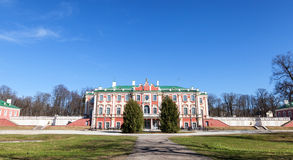 Kadriorg park with Palace in Tallinn Royalty Free Stock Images