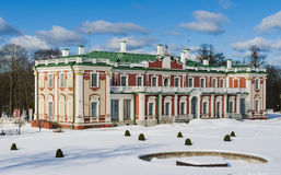 Kadriorg - the royal palace Stock Photography