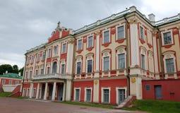 Kadriorgpaleis. Tallinn, Estland Royalty-vrije Stock Foto