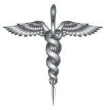 kaduceuszu wycinek zawiera cyfrowego medycznego ilustracyjnego ścieżka symbol Zdjęcie Royalty Free