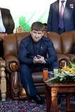 kadyrov总统 库存图片