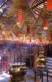 kadzidłowa świątynia Zdjęcia Royalty Free