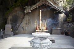 Kadzidłowego palnika Mazu świątynia Fotografia Stock