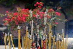 Kadzidłowy dym Zdjęcia Royalty Free