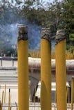 Kadzidłowy dym Obrazy Royalty Free