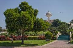 Kadzidłowy palnik w Riyam parku w Oman obraz stock