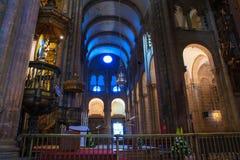 Kadzidłowy palnik, katedra Santiago Zdjęcie Royalty Free