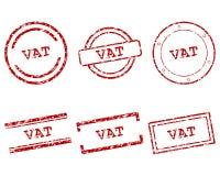 Kadziowi znaczki ilustracja wektor