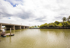 Kae yai river. At Samootsongkham in Thailand Stock Images