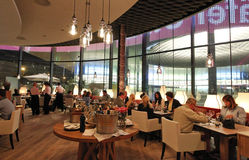 Kaefer Schweiz AG opens new Restaurant in Basel, Switzerland: VIP Dinner on Thursday 03.10.2013 Stock Photography