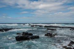 Kaena punkt, Oahu Royaltyfria Bilder
